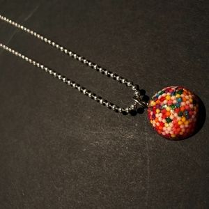 "Handmade ""Gumball"" Necklace"